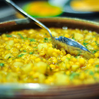 Smoky Yellow Split Pea Curry