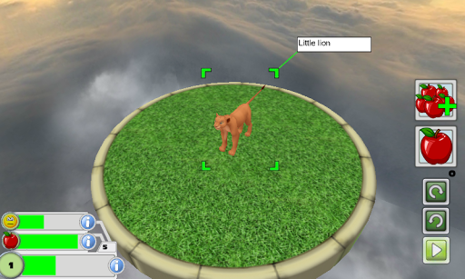 Virtual Pet 3D - Cartoon Lion