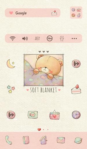 베니베어 soft blanket 도돌런처 테마