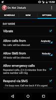 Screenshot of Do Not Disturb