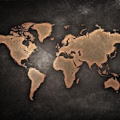 HD Wallpaper World Map