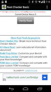 Root Checker - screenshot thumbnail