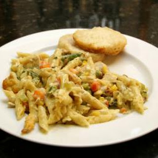 Easy Chicken and Mini Penne Casserole