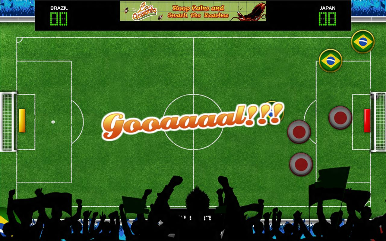 Button Soccer - screenshot