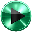 Poweramp skin SPEARMINT METAL icon