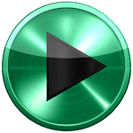Poweramp skin SPEARMINT METAL v2.03