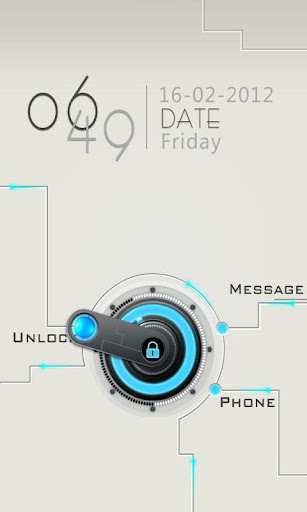 GO Locker Circuitry Theme v1.0 apk