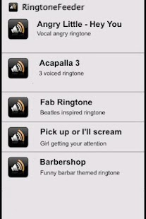 50 greatest ringtones- screenshot thumbnail