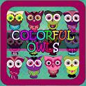 Owl Keyboard Theme icon