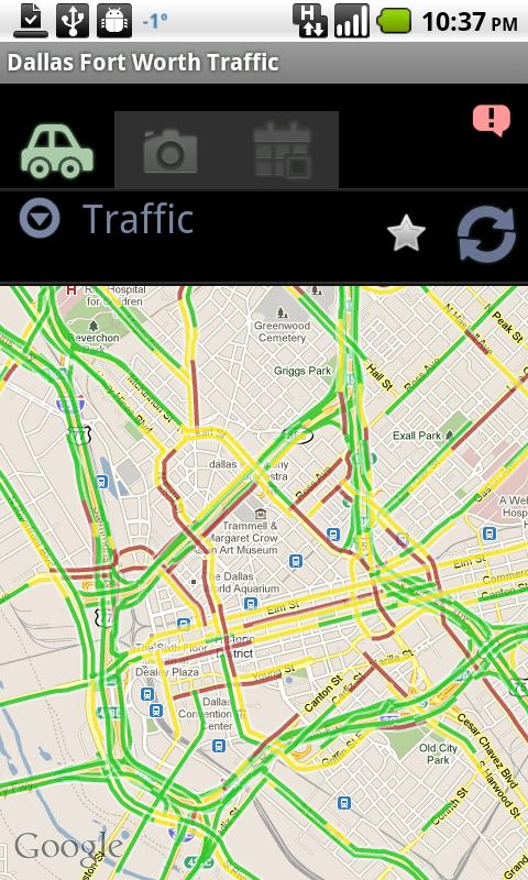 Dallas Fort Worth Traffic - screenshot