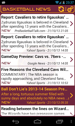 Cleveland Basketball News