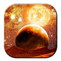 Galaxy Free Live Wallpaper 3d icon