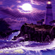 Purple Lighthouse Live Wallpap