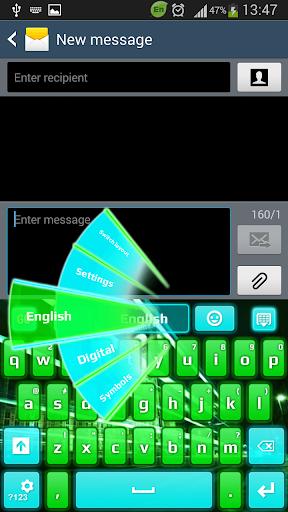 GO键盘夜光