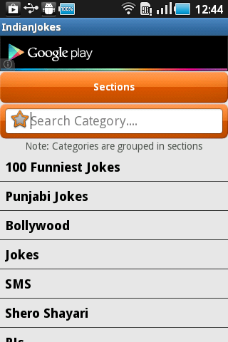 Indian Jokes 2.0- screenshot