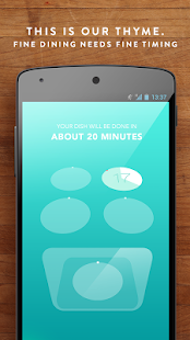 Thyme - Kitchen Timer- screenshot thumbnail
