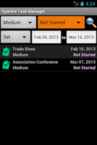 Sparkle Task Manager screenshot 2