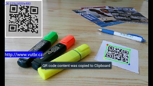 Advanced QR Code reader