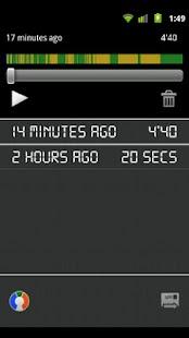PaceRecorder: miniatura de captura de pantalla