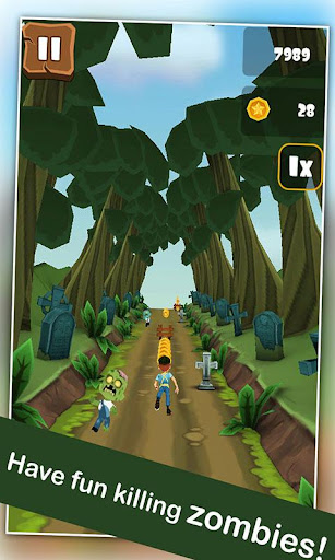 Zombie Run 3D : Road To Hell