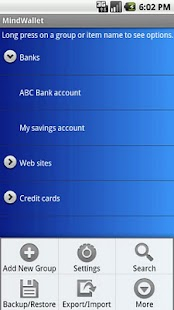 MindWallet - Password Manager- screenshot thumbnail