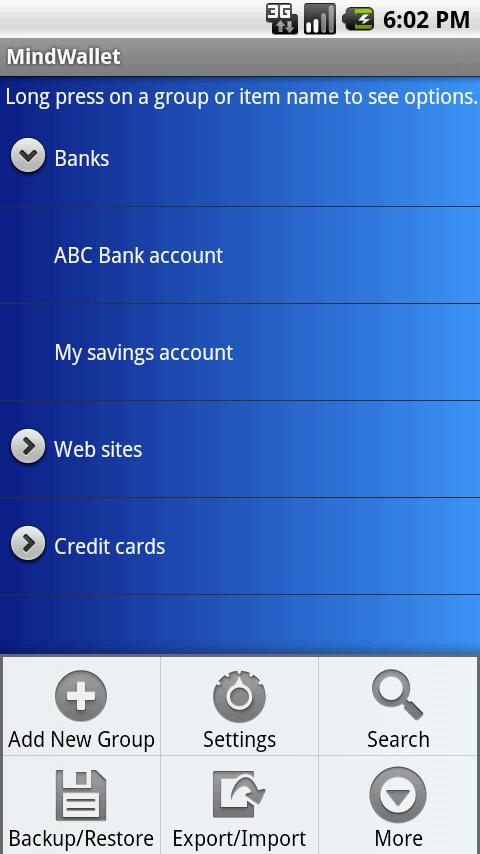 MindWallet - Password Manager - screenshot