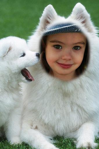 Dog Funny Photo Frame