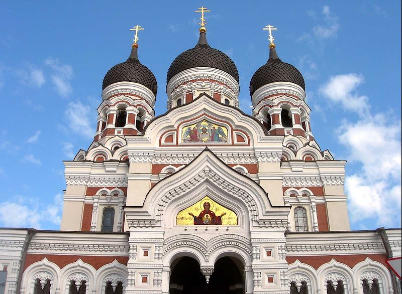Eliza Orthodox Church in Tallinn.