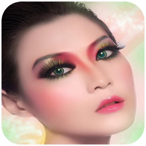 時尚女人彩妝眼影 休閒 App LOGO-APP試玩