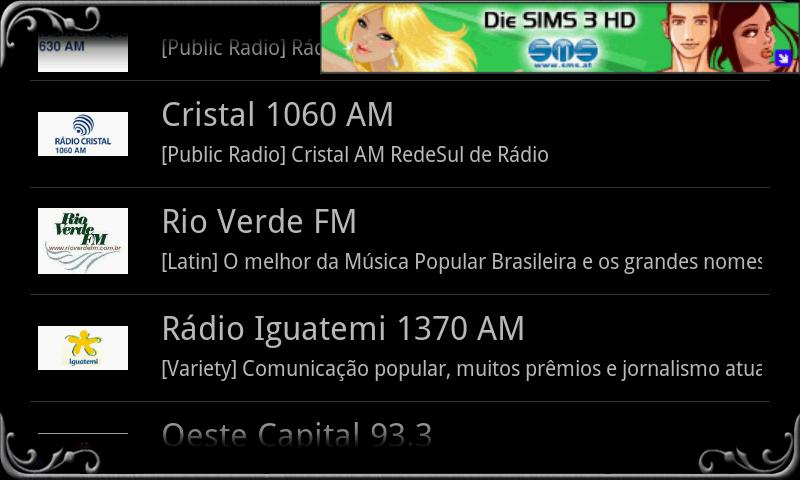 real Radio Brazil - screenshot