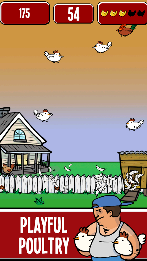 Chicken Flingers- screenshot