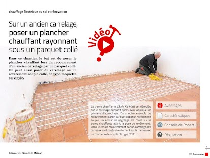 Bricoler Côté Maison - screenshot thumbnail