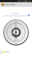 Screenshot of Decision Maker - Free tool :-)
