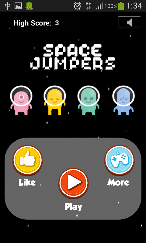 Space Jumpers - FREE- screenshot