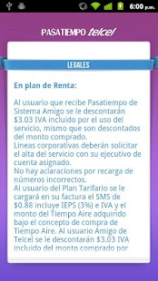 Pasatiempo Telcel- screenshot thumbnail