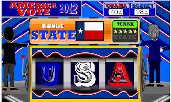 Screenshot of America Vote 2012