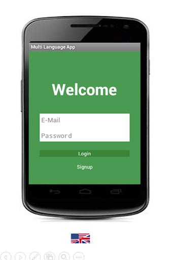 Multilingual Android App Demo