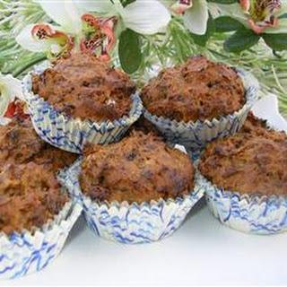 Fat Free Mini Prune Honey Muffins.