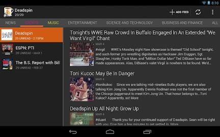 BeyondPod for Tablets - Legacy Screenshot 2