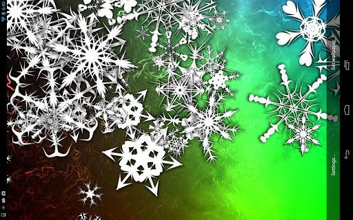 Snowflakes Pro Live Wallpaper