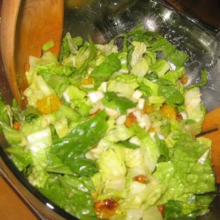 Mandarin Orange Salad.