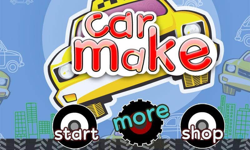 Car Builder-Car games - screenshot