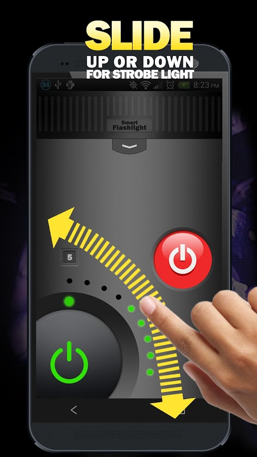 Flashlight - Smart Flashlight+ - screenshot