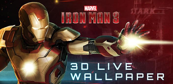 Homem de Ferro Live Wallpaper