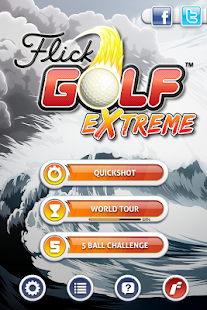 Flick Golf Extreme- screenshot thumbnail