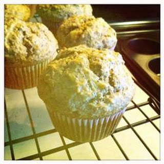 Poppy Seed and Banana Muffins.