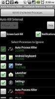 Screenshot of Auto Process Killer - OS 2.0+