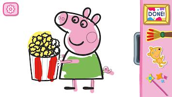 screenshot of Peppa Pig: Paintbox