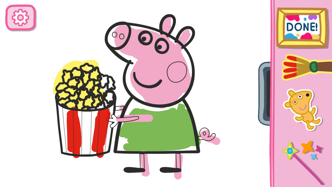 Peppa's Paintbox- screenshot