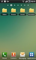 Screenshot of File Widget